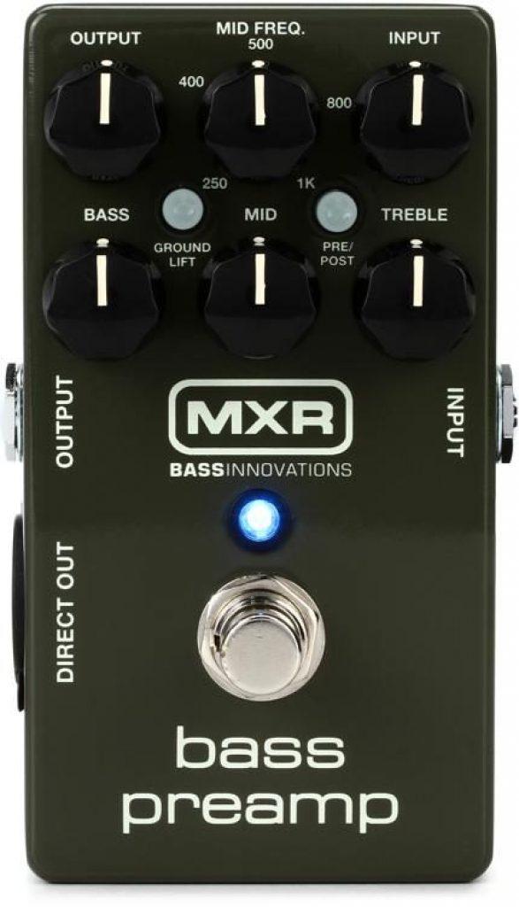 best bass preamp